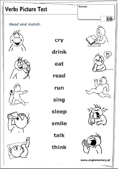 Primeros verbos y adjetivos: Presente simple | Enseñar inglés en casa